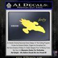Firefly Serenity Decal Sticker Yelllow Vinyl 120x120