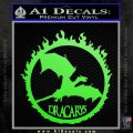 Game Of Thrones Dracarys Decal Sticker Lime Green Vinyl 120x120