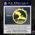 Game Of Thrones Dracarys Decal Sticker Yelllow Vinyl 120x120