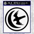 Game Of Thrones House of Arryn Decal Sticker Black Logo Emblem 120x120