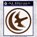 Game Of Thrones House of Arryn Decal Sticker Brown Vinyl 120x120