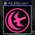 Game Of Thrones House of Arryn Decal Sticker Hot Pink Vinyl 120x120