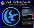Game Of Thrones House of Arryn Decal Sticker Light Blue Vinyl 120x97
