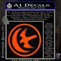 Game Of Thrones House of Arryn Decal Sticker Orange Vinyl Emblem 120x120