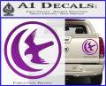 Game Of Thrones House of Arryn Decal Sticker Purple Vinyl 120x97