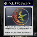 Game Of Thrones House of Arryn Decal Sticker Sparkle Glitter Vinyl 120x120