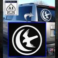 Game Of Thrones House of Arryn Decal Sticker White Emblem 120x120