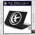 Game Of Thrones House of Arryn Decal Sticker White Vinyl Laptop 120x120