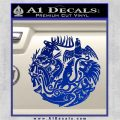 Game of Thrones Circle of Sigils Decal Sticker Blue Vinyl 120x120