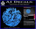Game of Thrones Circle of Sigils Decal Sticker Light Blue Vinyl 120x97