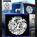 Game of Thrones Circle of Sigils Decal Sticker White Emblem 120x120