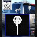 Game of Thrones Hand of the King Pin DLB Decal Sticker White Emblem 120x120