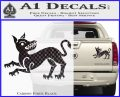Game of Thrones House Clegane Decal Sticker Carbon Fiber Black 120x97