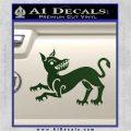 Game of Thrones House Clegane Decal Sticker Dark Green Vinyl 120x120