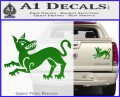 Game of Thrones House Clegane Decal Sticker Green Vinyl 120x97