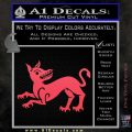 Game of Thrones House Clegane Decal Sticker Pink Vinyl Emblem 120x120