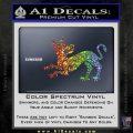 Game of Thrones House Clegane Decal Sticker Sparkle Glitter Vinyl 120x120