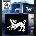 Game of Thrones House Clegane Decal Sticker White Emblem 120x120