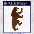 Game of Thrones House Mormont Decal Sticker Brown Vinyl 120x120
