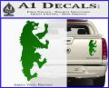 Game of Thrones House Mormont Decal Sticker Green Vinyl 120x97