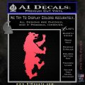 Game of Thrones House Mormont Decal Sticker Pink Vinyl Emblem 120x120