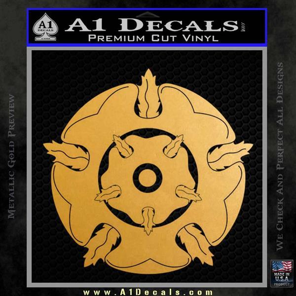Game of Thrones House Tyrell Metallic Gold Vinyl