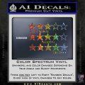 Grand Theft Auto Wanted Stars Sparkle Glitter Vinyl 120x120