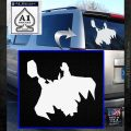 Greek God Thor Decal Sticker Flying White Emblem 120x120
