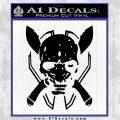 HALO 4 LEGENDARY VINYL DECAL Black Logo Emblem 120x120