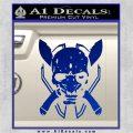 HALO 4 LEGENDARY VINYL DECAL Blue Vinyl 120x120