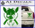HALO 4 LEGENDARY VINYL DECAL Green Vinyl 120x97