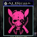 HALO 4 LEGENDARY VINYL DECAL Hot Pink Vinyl 120x120