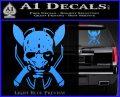 HALO 4 LEGENDARY VINYL DECAL Light Blue Vinyl 120x97