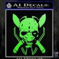 HALO 4 LEGENDARY VINYL DECAL Lime Green Vinyl 120x120
