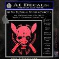 HALO 4 LEGENDARY VINYL DECAL Pink Vinyl Emblem 120x120