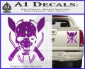 HALO 4 LEGENDARY VINYL DECAL Purple Vinyl 120x97