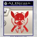HALO 4 LEGENDARY VINYL DECAL Red Vinyl 120x120