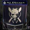 HALO 4 LEGENDARY VINYL DECAL Silver Vinyl 120x120