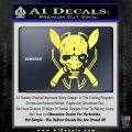 HALO 4 LEGENDARY VINYL DECAL Yelllow Vinyl 120x120