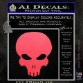 Halo Extermination Skull Logo Vinyl Decal Pink Vinyl Emblem 120x120