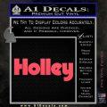 Holley Logo Decal Sticker VZL Pink Vinyl Emblem 120x120