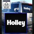 Holley Logo Decal Sticker VZL White Emblem 120x120