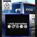 I Void Warranties D2 Decal Sticker White Emblem 120x120