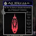 Indian Feather Vinyl Decal Sticker DV Pink Vinyl Emblem 120x120