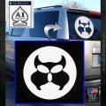 Inspector Gadget MAD Decal Sticker CR White Emblem 120x120