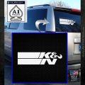 K N Logo D2 Decal Sticker VZL White Emblem 120x120