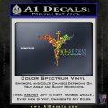 Khaleesi Dragon Decal Sticker Sparkle Glitter Vinyl 120x120