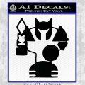 League Of Legends Tower Decal Sticker Black Logo Emblem 120x120