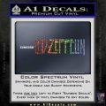 Led Zeppelin Decal Sticker Logo Sparkle Glitter Vinyl 120x120