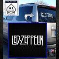 Led Zeppelin Decal Sticker Logo White Emblem 120x120